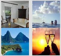 Five Nights for Four in Beautiful St Lucia Beach Condo 202//188