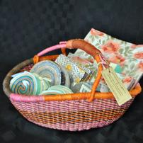 Ghana Basket of Moda Fabric 3 //202