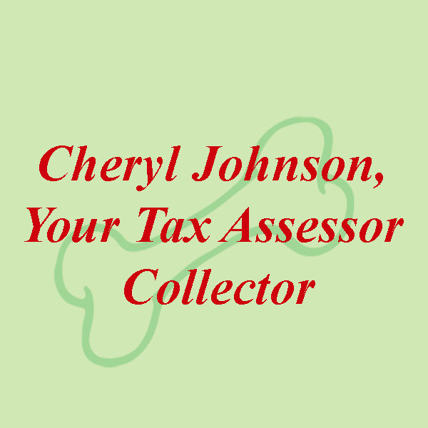 Cheryl Johnson, Your Tax Assessor Collector