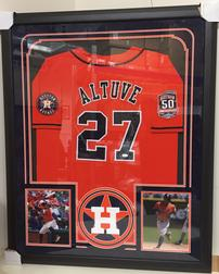 Jose Altuve Houston Astros Framed Jersey 202//252