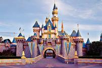 Disneyland tickets plus roundtrip airfare on United for two.