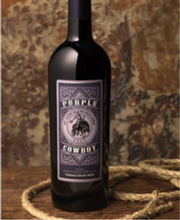 1.5L Magnum Bottle of Purple Cowboy Tenacious 202//246