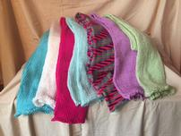 Colorful Hand Knitted Neck Scarf 202//152