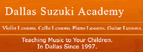 Dallas Suzuki Academy - 4 30-minute Piano Lessons 202//74