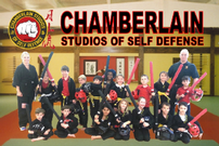 Chamberlain Studios of Self Defense - 1 Month New Family Membership 202//135