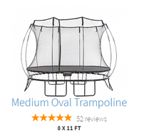 Medium Oval Springfree Trampoline Bundle 202//194