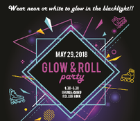 3rd Grade Party - Glow & Roll