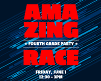 4th Grade Party - Amazing Race