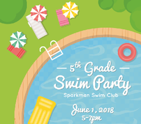 5th Grade Party - Swim Party