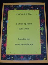 WildCat Golf Club 202//272