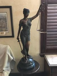 Bronze Statue Of Lady Justice 202//269