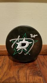Dallas Stars Autographed Hockey Puck 158//280