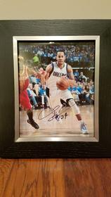 Dallas Mavericks Autographed Picture 158//280