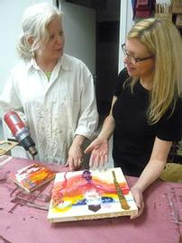 One 3 Hour Encaustic Workshop on Painting with Wax 202//270