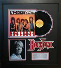 Bon Jovi Vintage Album with Signed Photo 202//224