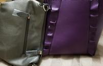 Purple Purse With Micro Charger 202//130