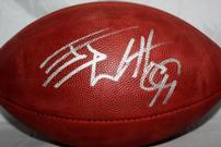 J J Watts Signed Football 202//135
