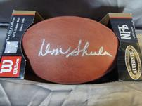 Don Shula Signed Football 202//151