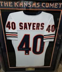 Gale Sayers Signed Chicago Bears Football Jersey 202//233