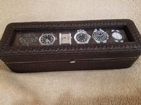 Leather Braided Watch Box 202//151