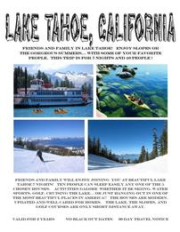 Lake Tahoe for 10 for 7 Nights 202//261