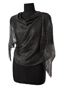 Black Evening Scarf/Shawl 196//280