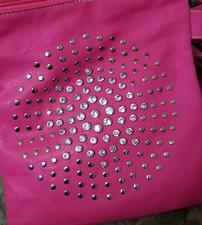 Pink Purse with Crystals 202//225