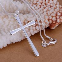 Sterling Silver Cross Necklace 202//202