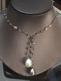 Pearl Drop Necklace 202//267