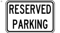 Reserved parking spot at Sig Ep house 202//111
