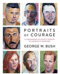 Signed George W. Bush Book Portrait of Courage 202//251