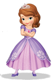 Birthday Party in a Basket - Sofia the First 192//280