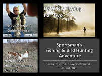 Trio of Hunting and Fishing-Value $1600
