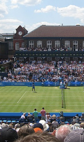 2 Hospitality Packages for the Queens Club London Tennis Finals 166//280