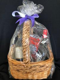 French Red wine sampler basket 202//269