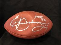 HOF RB Eric Dickerson autographed football 202//151