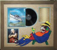 Jimmy Buffet Vintage Album with Signed Photo 202//176