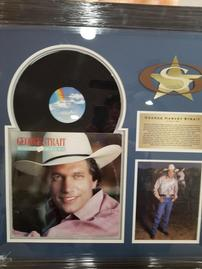 George Strait Vintage Album With Signed Photo 202//269