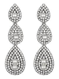 Pearl Gatsby Earrings 202//270
