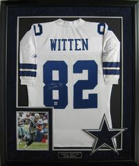 Jason Witten Signed Dallas Cowboy Jersery 202//242