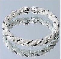 Twisted Sterling Silver Bracelet 202//194