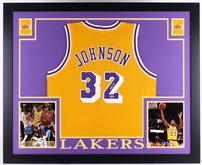 Magic Johnson Signed Memorbilia 202//165