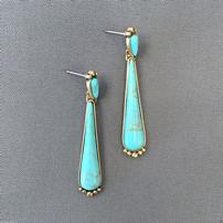 Turquoise Drop Earrings 202//202