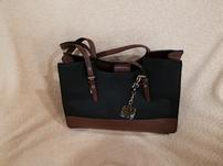 Two Tone Faux Leather Purse 202//151