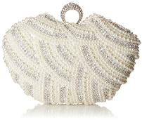 Beaded Pearl Clutch/Evening Bag 202//171