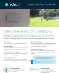 Rachio 3 Sprinkler Controller and Installation 202//251