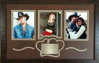 Tim McGraw and Faith Hill Signed Memorbilia 202//128