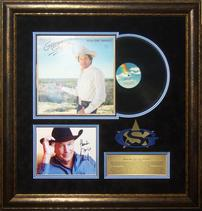 George Strait Vintage Album With Signed Photo 202//211