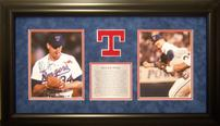 Nolan Ryan Texas Rangers Shadowbox with Signed Baseball 202//116