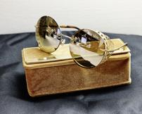Chopard 23K Gold-Plated Sunglasses/De Rigo REM